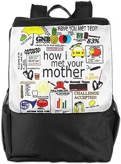 Custom How I Met Your Mother Geek Knapsack For Men