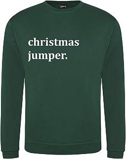 Sponsored Ad – Teesh Clothing Men's Christmas Jumper | Ironic Design
