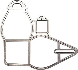 Fogun Boîte d'emballage en métal Matériel Dies de decoupe Scrapbooking, DIY Album de Scrapbooking Outil de Gaufrage Décora...