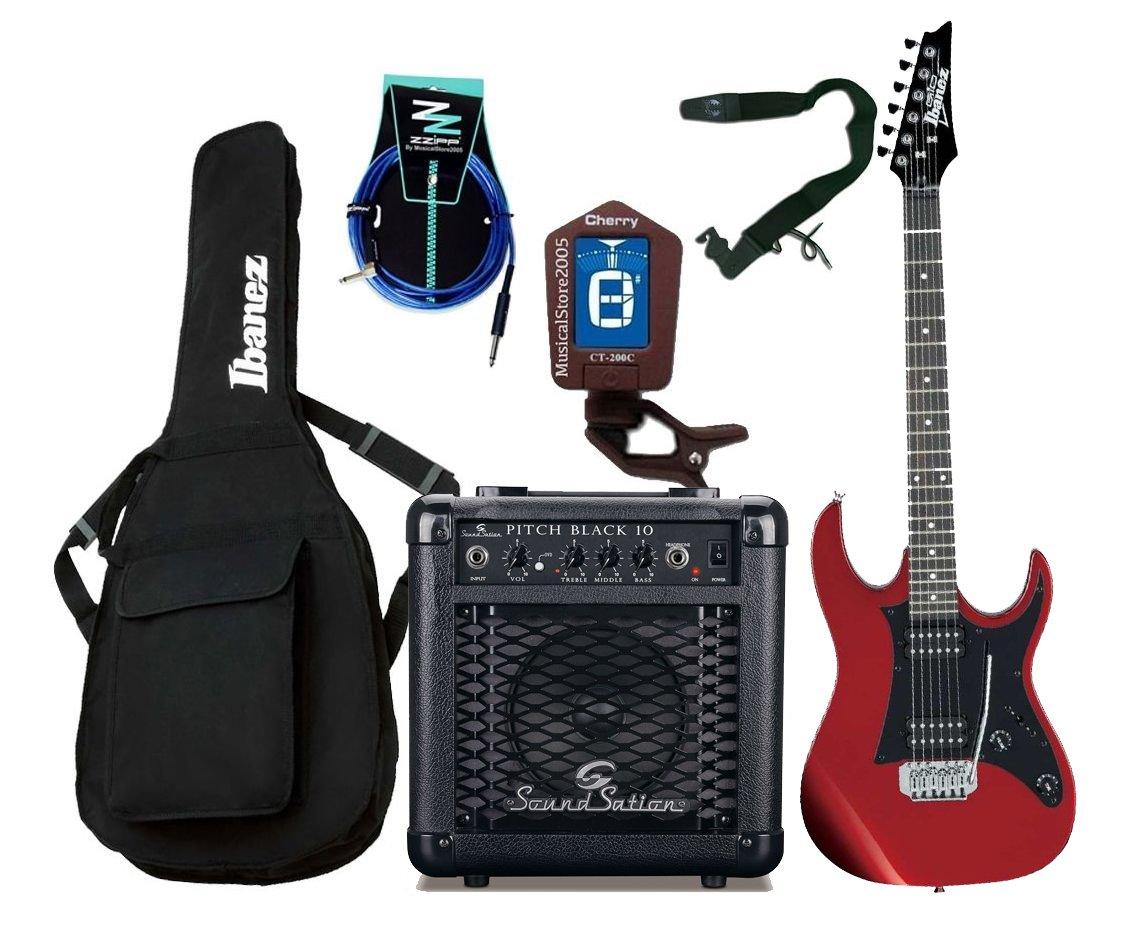 Ibanez Starter Pack guitarra eléctrica Entry Level roja/Combo ...