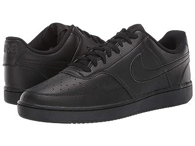 Nike Court Vision Lo (Black/Black/Black) Men