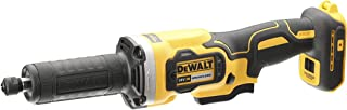 Dewalt DCG426N-XJ DCG426N-XJ-Amoladora recta escobillas XR 18V sin cargador/batería, 18 V, Yellow/Black, 125mm