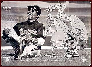 Reggie Jackson HOF 1991 Upper Deck Comic Ball Looney Tunes The Martian HOLOGRAM CALIFORNIA ANGELS