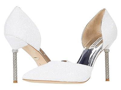 Badgley Mischka Ozara (White) High Heels