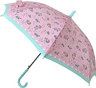 ドリーミー ユニコーン 女の子 透明窓 ジャンプ傘 子供用