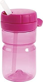 OXO Tot Twist Lid Water Bottle for Big Kids (12 Oz) - Pink