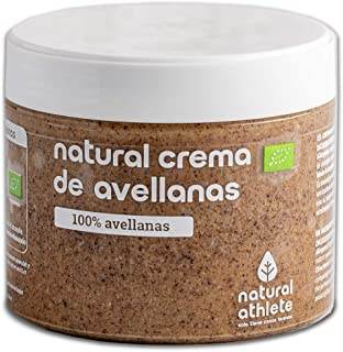 Crema de Avellanas BIO -Natural Athlete- 100% solo Avellanas - 100% natural