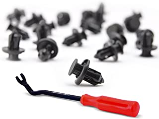 AFA Tooling Replacement for Honda Body Clips - 91503-SZ3-003 (50 Pcs)- Stronger Than Original Nylon - with Fastener Remover