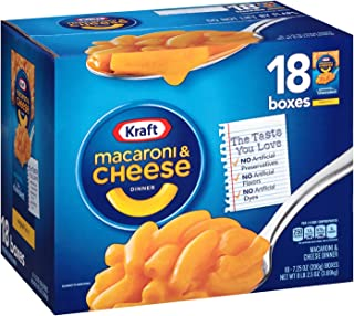 Kraft Macaroni and Cheese (18 ct. box)