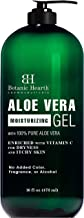 Botanic Hearth Aloe Vera Gel - From 100% Pure and Natural Cold Pressed Aloe Vera, 16 fl oz