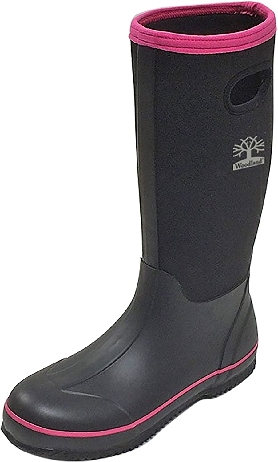 Land of Wood Woodland Womens Ladies Pull On Plain Design Wellington Boots