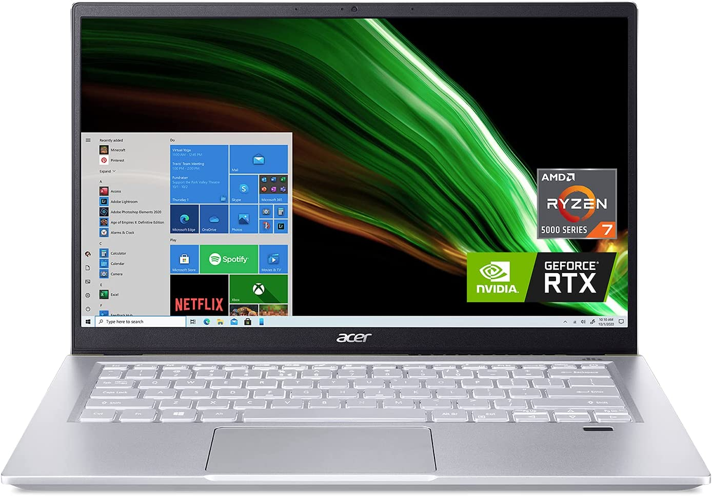 Acer Swift X SFX14-41G-R1S6 Creator Laptop
