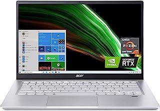 "Acer Swift X SFX14-41G-R1S6 Creator Laptop | 14"" Full HD 100% sRGB | AMD Ryzen 7 5800U | NVIDIA RTX 3050Ti Laptop GPU | 16..."