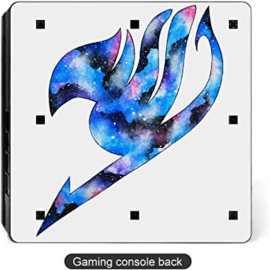 Fairy Tail Novelty Anime Cartoon PS4 Slim Whole Body Vinyl Decal Gaming Skin for Playstation 4 System Console and Controllers