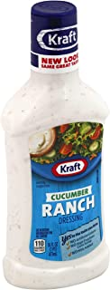 Kraft Cucumber Ranch Dressing & Dip, 16 oz, 2 pk by Kraft