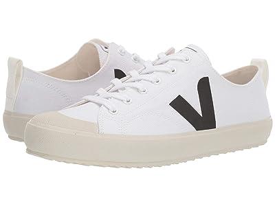 VEJA Nova (White/Black Canvas) Shoes