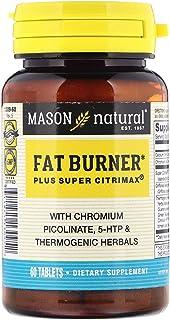 Mason Natural, Fat Burner Plus Super Citrimax, 60 Tablets