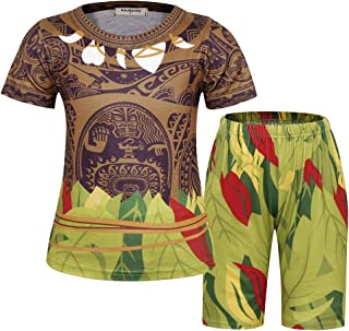 Costume for Little Boys Pajamas Toddler Kids Short Sets Cosplay Outfit