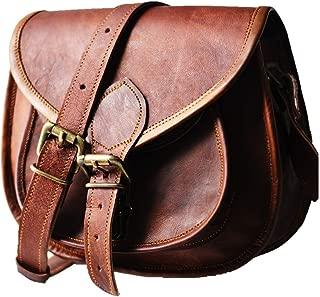 Women's Leather Vintage Messenger Cross Body Bag