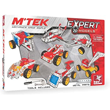 Toykraft: Expert - Multi Model Mechanics STEM Construction Toy for 8 Year Old & Above