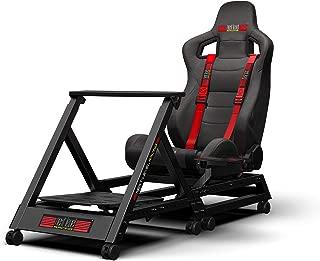 Next Level Racing レーシングシート GT TRACK 各種ハンドルコントローラー対応 ホイールキャスター付き ギアシフト調節可能 NLR-S009 【国内正規品】