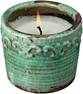 Swan Creek 9 Oz. 100% Soy Wax 45+ Hour Round Pottery Candle