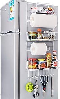 XCXDX Rejillas para Refrigerador Artículos para El Hogar De Pared Lateral Alacena De Cocina Estante De Almacenamiento De E...