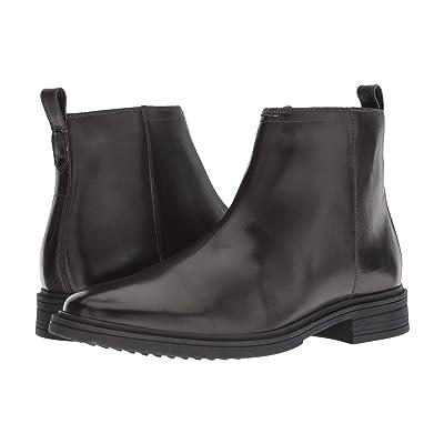 Cole Haan Bernard Zip Boot (Dark Roast/Black) Men