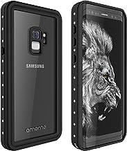 AMORNO Galaxy S9 Waterproof Case, Waterproof Shockproof Dustproof Dirtproof Full Body Case Built in Screen Protector with ...