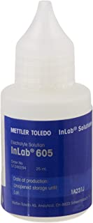 Mettler-Toledo 51340294 InLab 605 Electrolyte, 25 ml