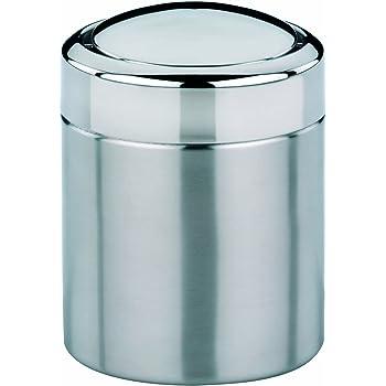 simplehuman, 1,5 Liter, Tischeimer, gebürsteter Stahl, 5