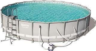 Bestway Power Steel 22in x 4.3ft Above Ground Swimming Pool w/Pump & Filter
