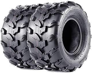 VANACC 18x9.5-8 ATV Tires Sport 18x9.5x8 UTV Off-Road Utility 4 PR Set of 2