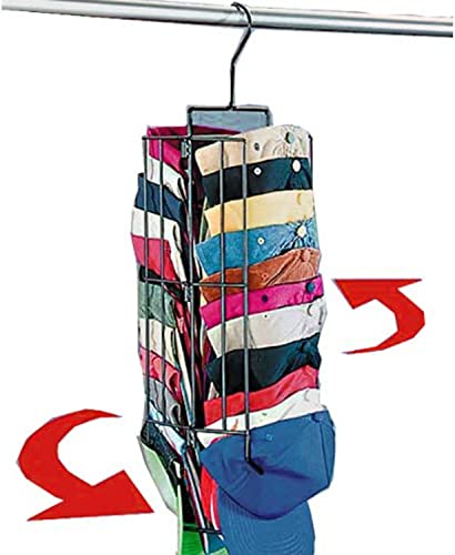HANGING CAP RACK (IT SPINS AND HOLDS UP TO 40 CAPS!)