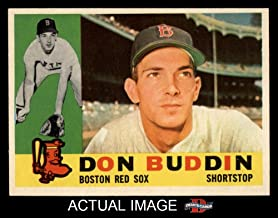 1960 Topps # 520 Don Buddin Boston Red Sox (Baseball Card) Dean's Cards 6 - EX/MT Red Sox