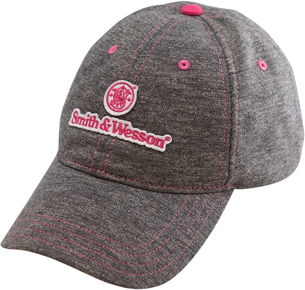 Smith Wesson SW Ladies Space Dyed Offici Cap Max 69% OFF shop with - Pink Logo