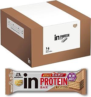 【Amazon.co.jp 限定】inバー プロテイン カフェオレ (14本入×1箱) ほろ苦カフェオレクリームを楽しむウエファータイプ 高タンパク10g 糖質40%オフ Eルチン配合