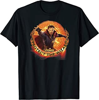 Marvel Infinity War Protect the Wizard Dr. Strange T-Shirt