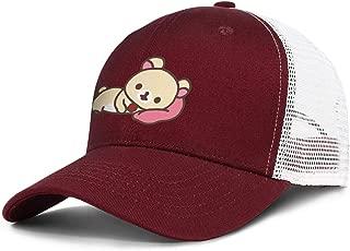 ZHJBVJD Twill Mesh Kids Designer Nylon Mesh Back Adjustable Trucker Hat Cap