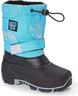 Unisex Waterproof Snow Boots Insulate - Cold Weather Snow Boot (Toddler/Little Kid/Big Kid) Boys Girls Many Colors