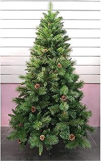 comprar comparacion Árbol de Navidad Artificial de Pino Maxi-Relleno Arboles Desmontable C/Soporte Metálico 150-240cm (Verde Desmontable, 180c...