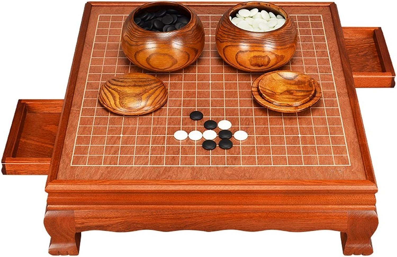 tienda en linea Tao Adult Go Set, Tablero de ajedrez de Madera Maciza Maciza Maciza de Alto Grado Yunzi Go Pieces Tablero de ajedrez de Madera Frame Built-in Drawer  Ahorre 60% de descuento y envío rápido a todo el mundo.