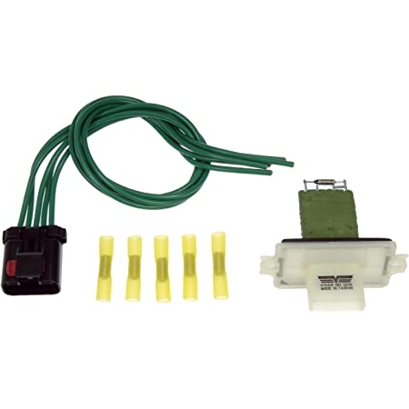 AUTOMUTO AC Blower Motor Resistor Kit Replace 4885482AC Fit for 2004 for Chrysler Pacifica//01-2007 for Chrysler Town Country//08-2011 for Dodge Nitro//2008 for Jeep Commander//2010-2012 for Jeep Liberty