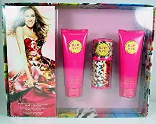Sjp Nyc by Sarah Jessica Parker for Women. Gift Set (EDT Spray 1 Oz, Shower Gel 2.5 Oz, Lotion 2.5)