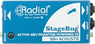 Radial StageBug SB-1 1-Channel Active Instrument Direct Box