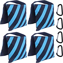 ABCCANOPY Sandbag Saddlebag Design 4 Weight Bags for Photo Video Studio Stand (Sky Blue)