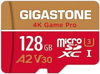 【5年保証 】Gigastone Micro SD Card 128GB A2 V30 マイクロSDカード UHS-I U3 Class 10 100/80 MB/S 高速 Gopro アクションカメラ スポーツカメラ 4K Ultra HD ...