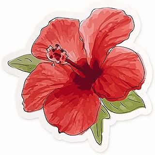 Cute Hibiscus Flower Sticker   4