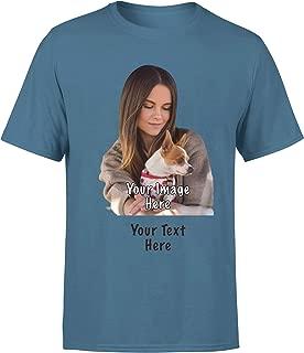 Design Your Own Custom Shirt - Customize Women Men T Shirts Personilized Tshirt for Mens & Womens