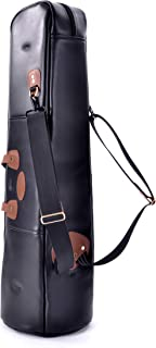 Glenn Cronkhite Custom Cases Large Tenor Trombone w/F Attachment Leather Gig Bag